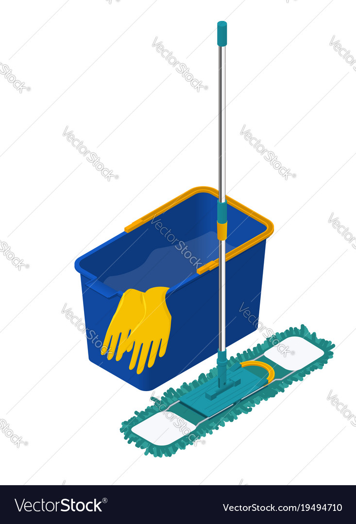 House and apartment cleaning service icon modern Vector Image