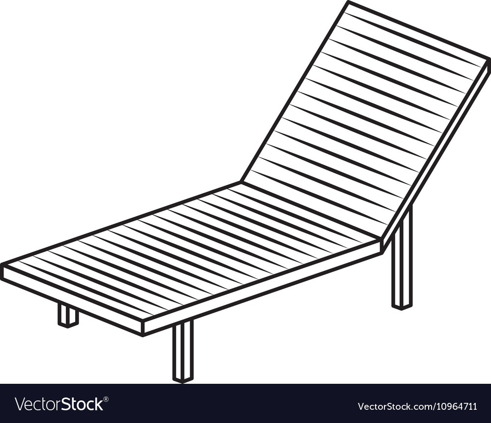 Isolated and silhouette suns chair design Vector Image