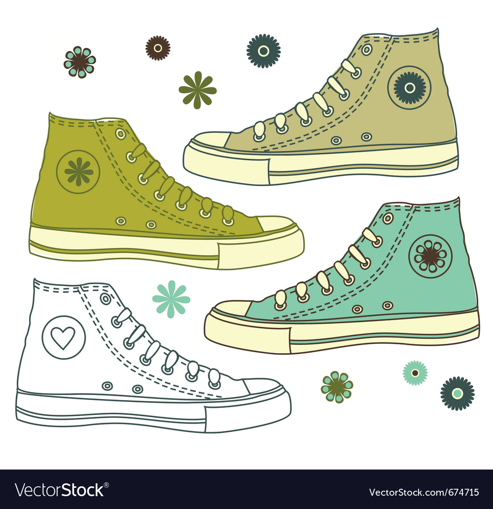 Shoe s vector image