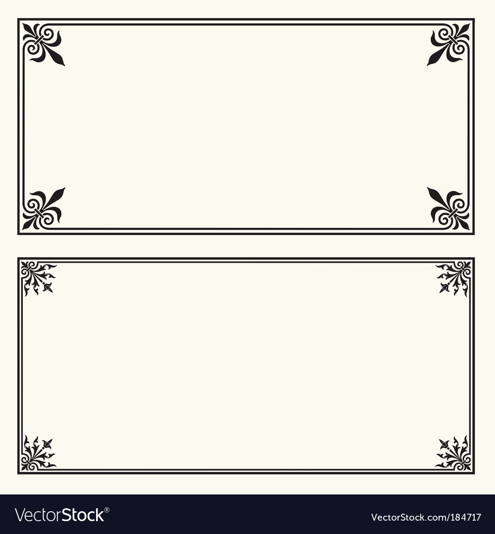 Certificate frames royalty free vector image vectorstock certificate frames vector image xflitez Choice Image