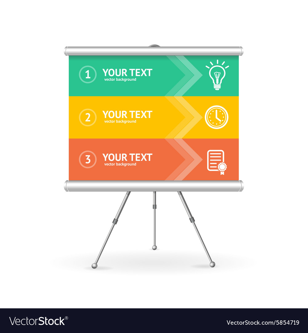 Business Option Banner vector image