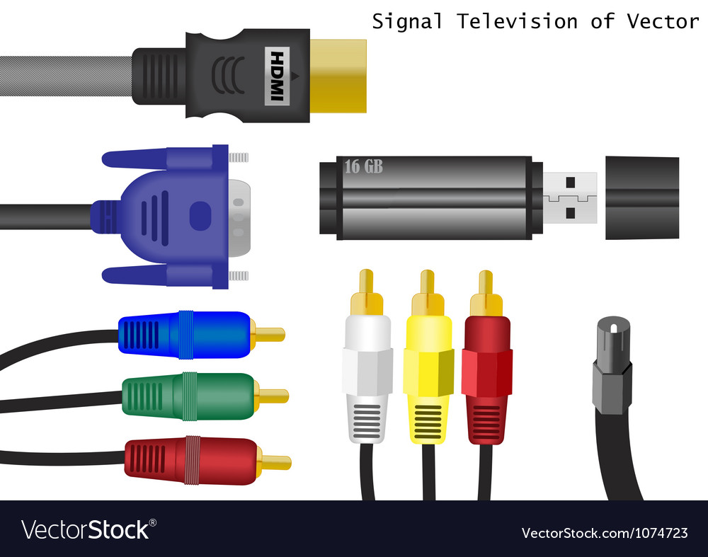 Equipment communication of vector image