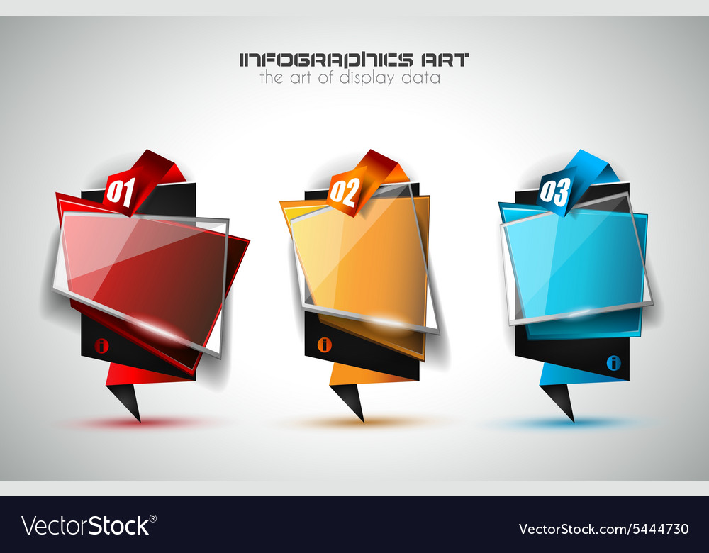 Infographic Layout for infocharts and item vector image