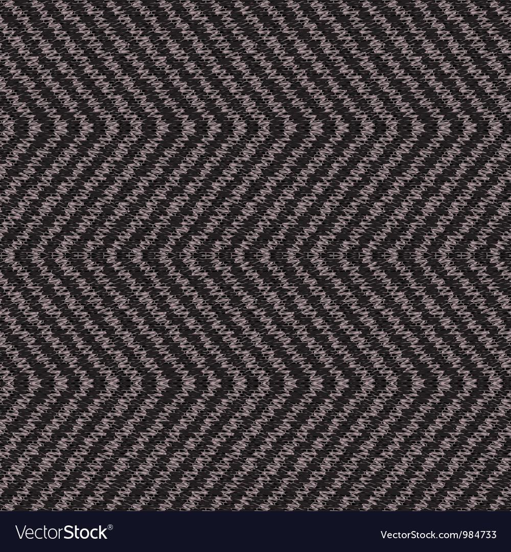 Wool fabric vector image