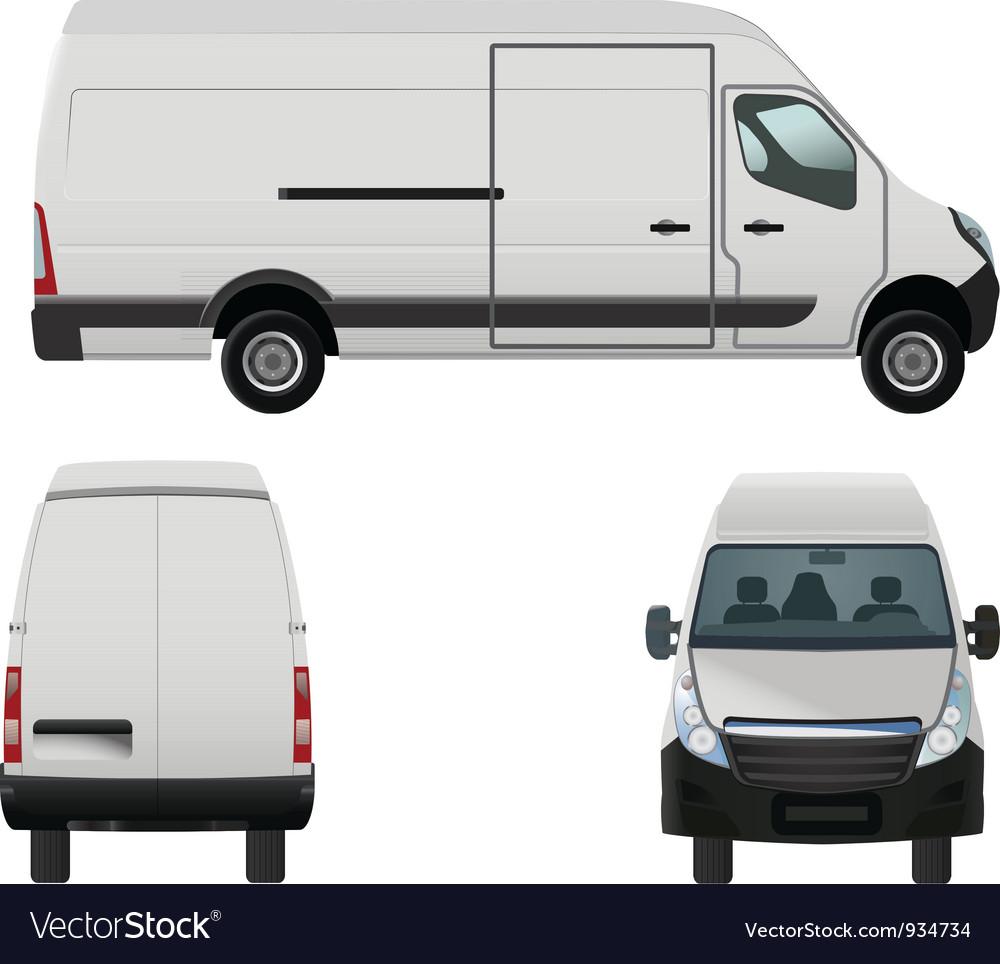 Van vector image