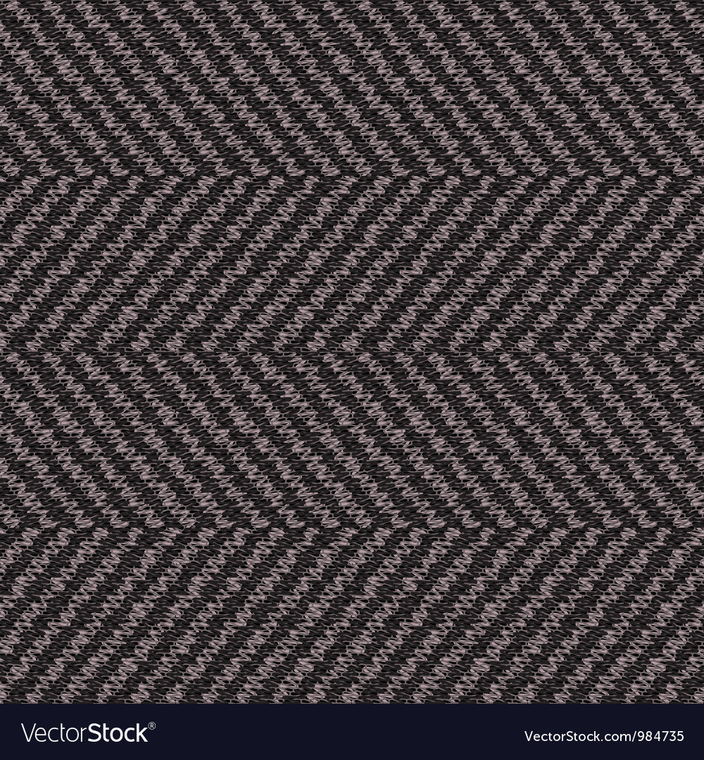 Wool herringbone fabric vector image