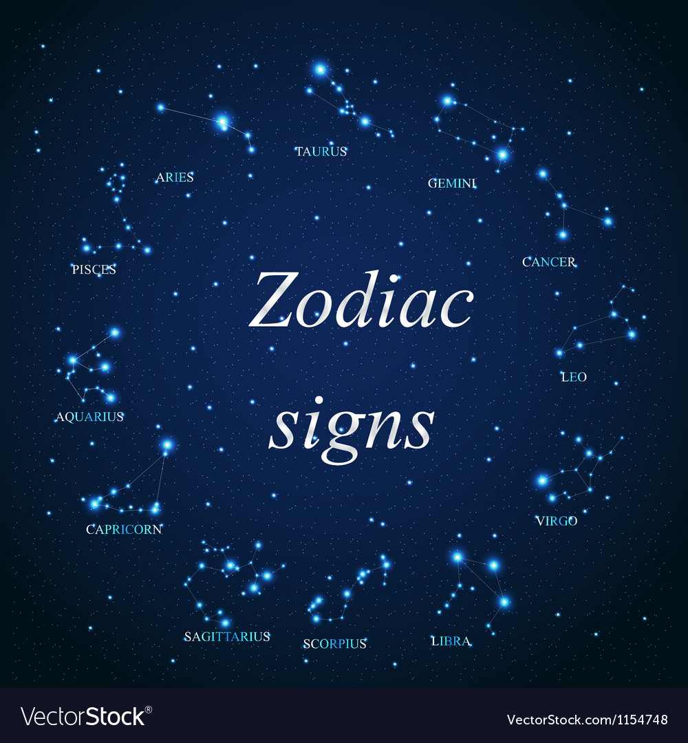 The aries zodiac sign of the beautiful bright vector image biocorpaavc Gallery