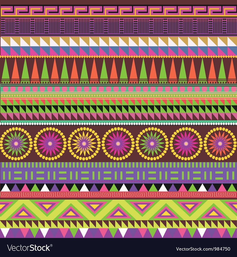 Color carpet vector image