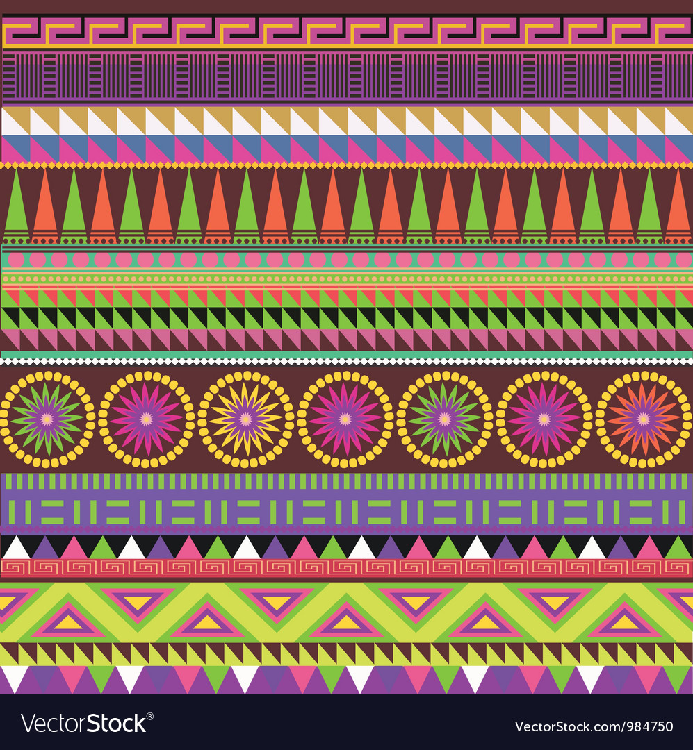 Color carpet vector image
