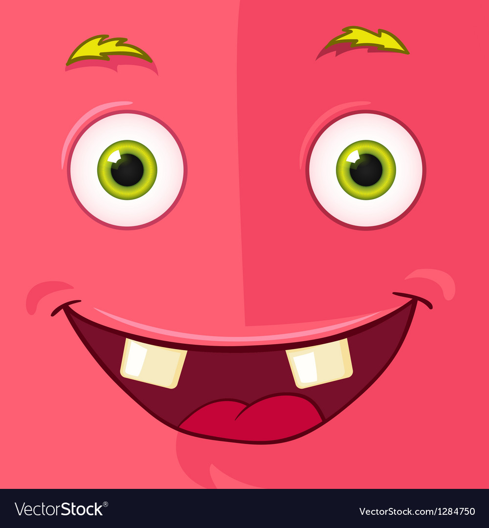 Monster Avatar vector image