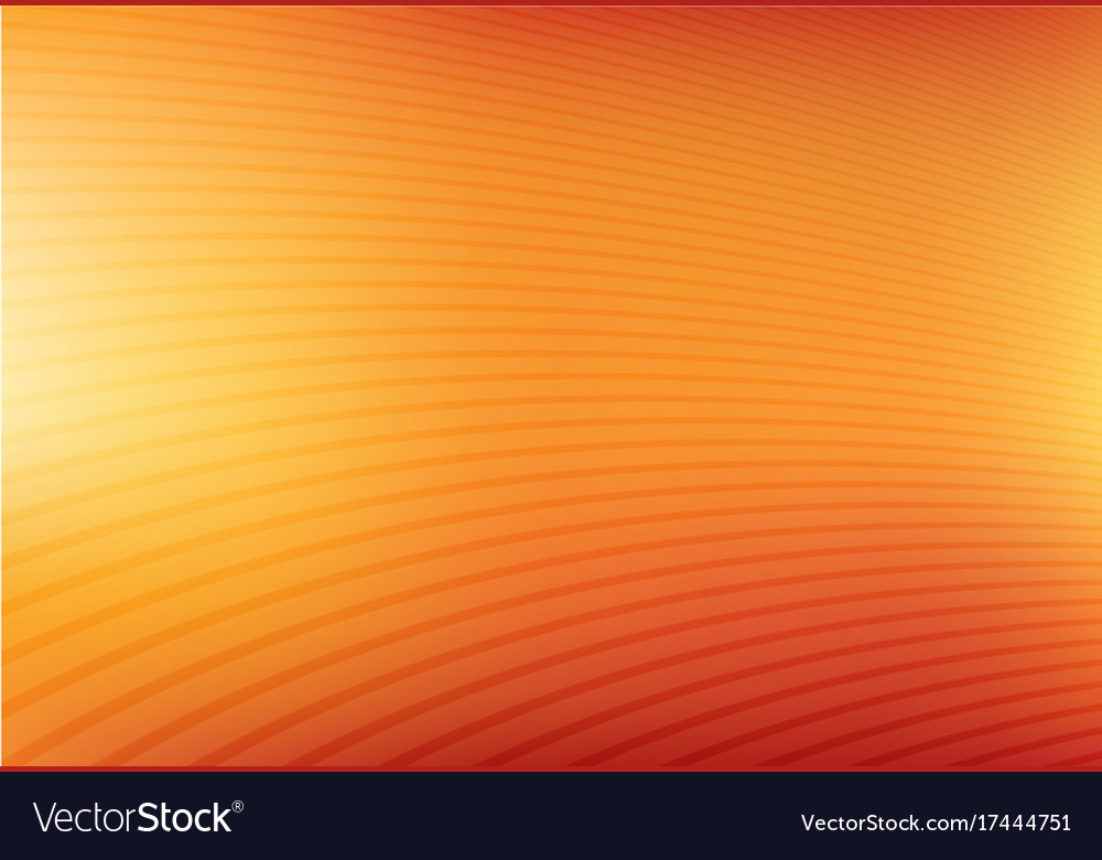 Abstract orange and yellow mesh gradient with vector image
