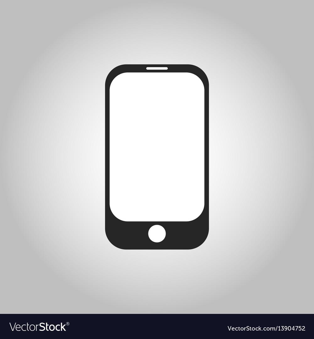 Icon cellphone vector image