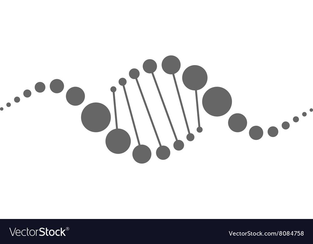 DNA-strands-380x400 vector image