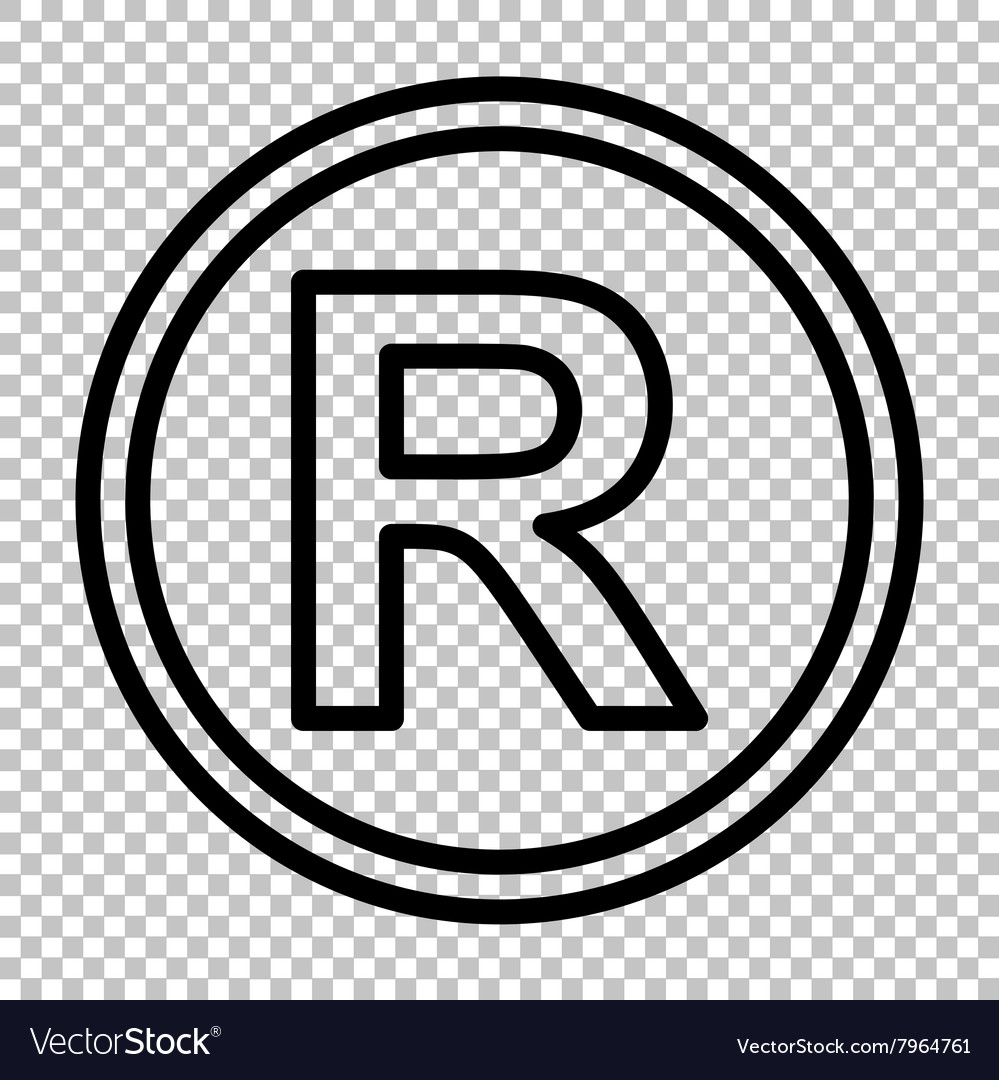 Registered trademark sign royalty free vector image registered trademark sign vector image buycottarizona Gallery