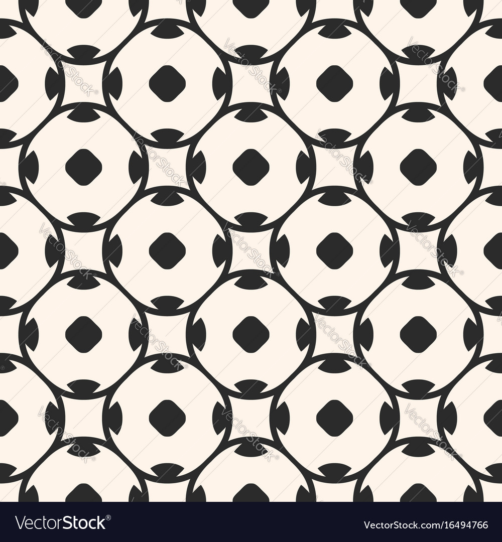 Seamless geometric pattern oriental tiles vector image