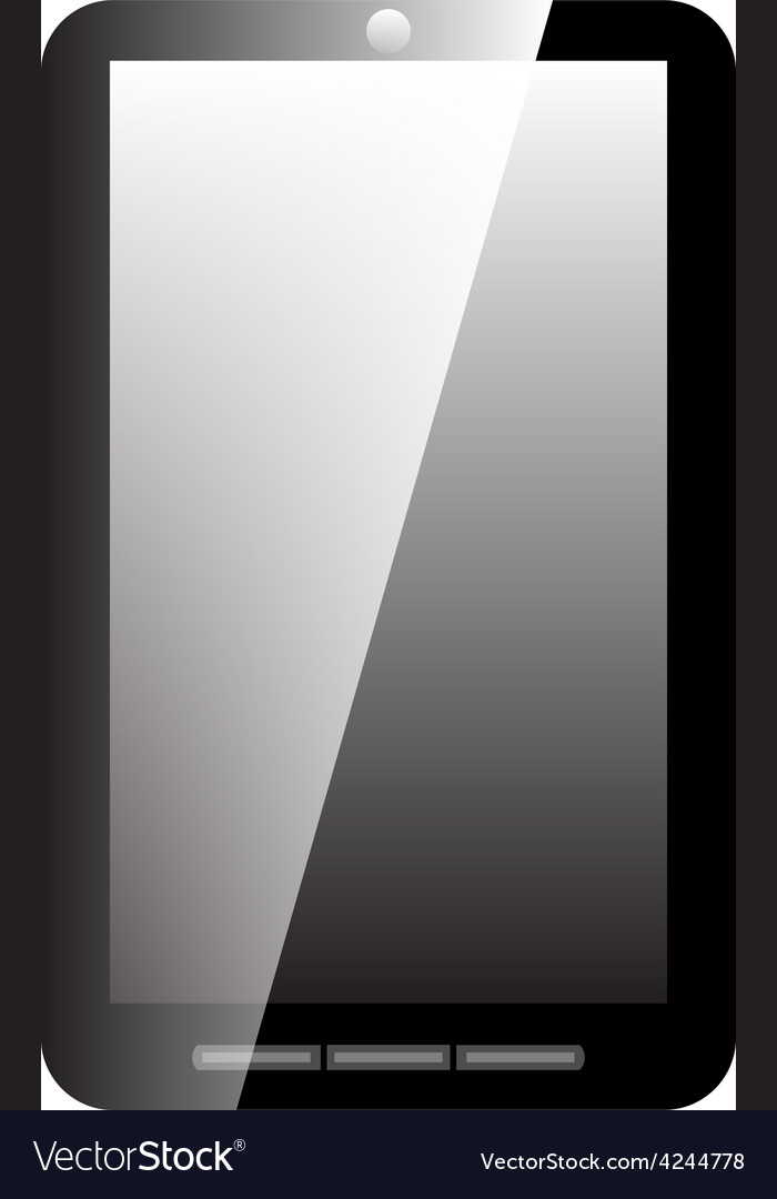 Icon mobile phone vector image