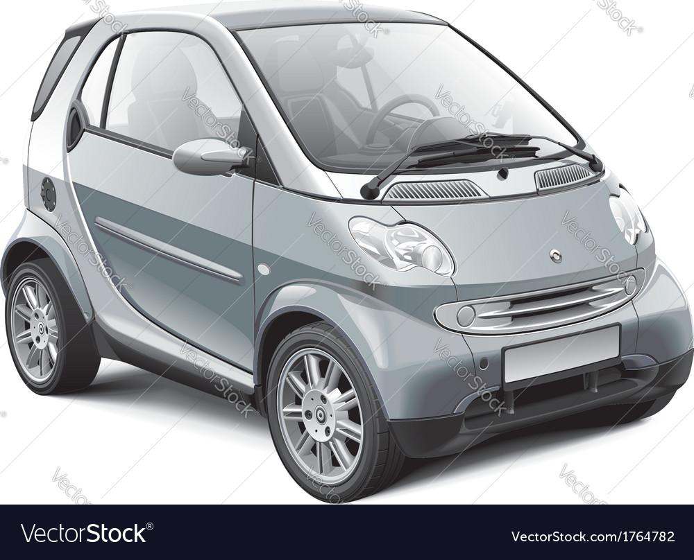 European microcar vector image