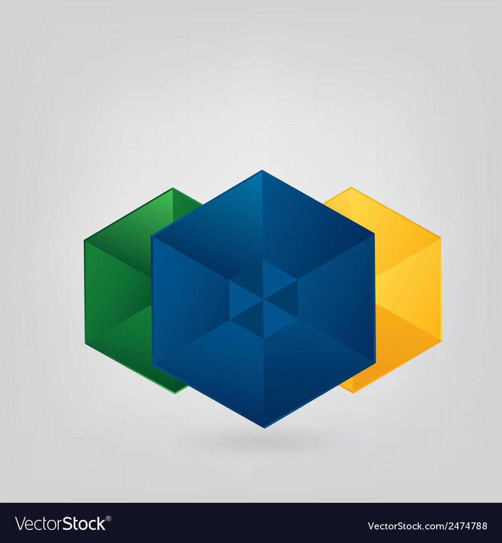 Geometric Brazil Background vector image