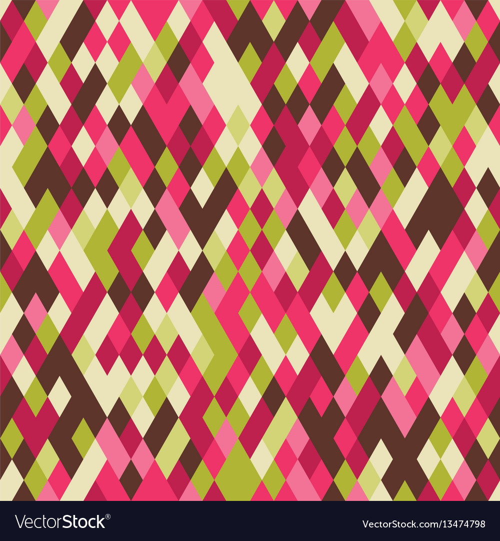 Geometry bright colorful backdrop for party vector image