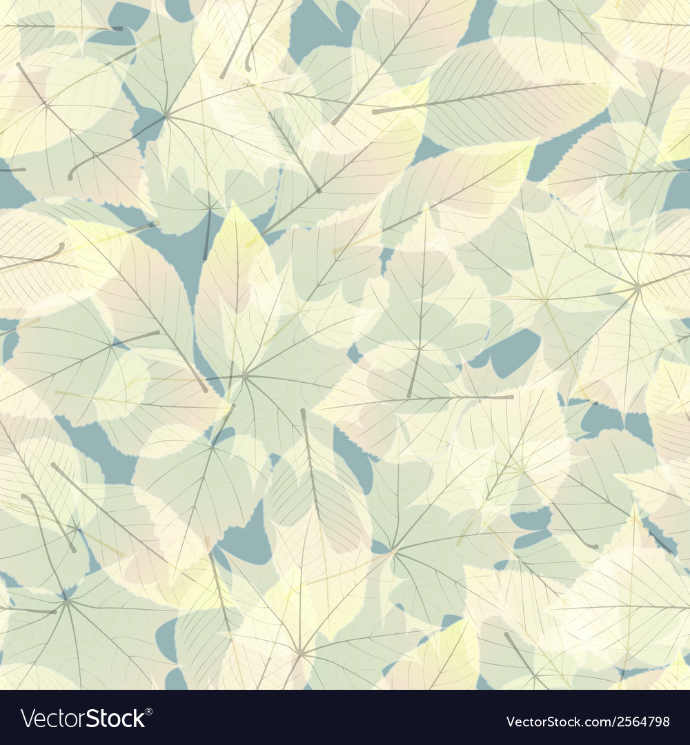 Transparent Autumn Leaves plus EPS10 vector image