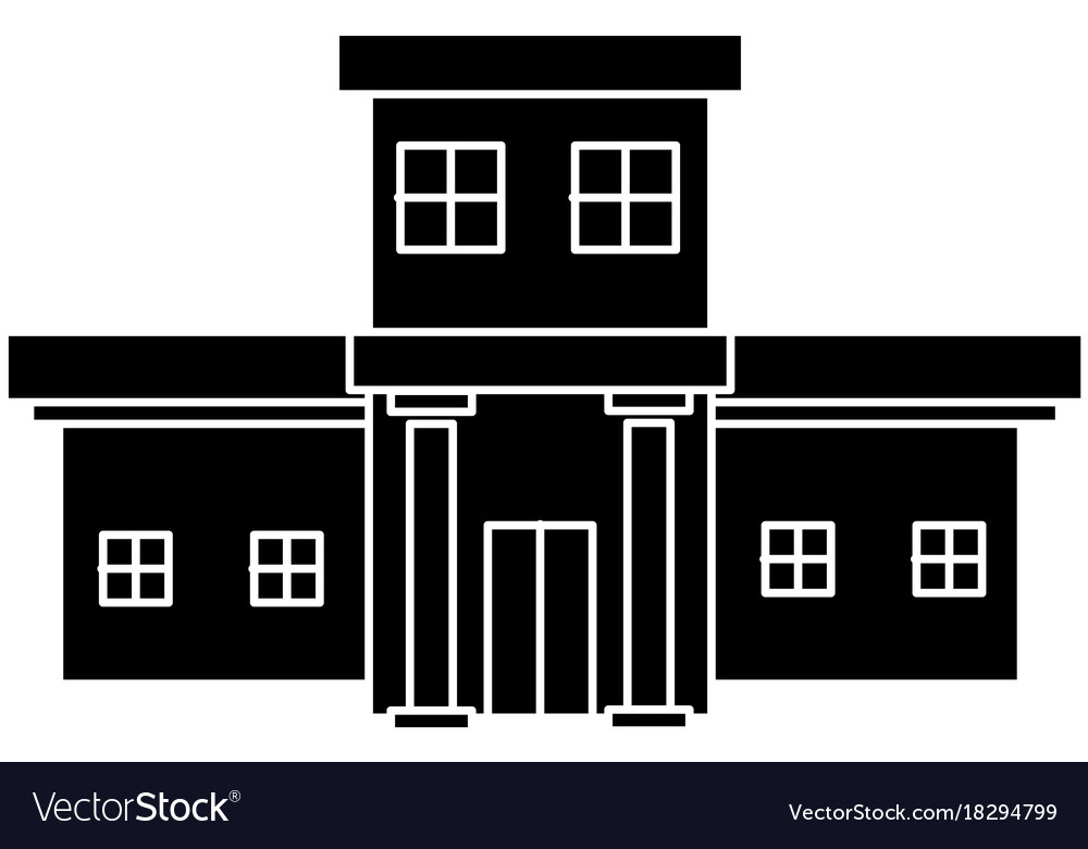 Hospital building symbol royalty free vector image hospital building symbol vector image biocorpaavc Image collections