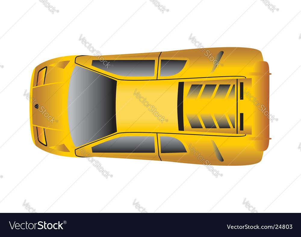 Diablo yellow vector image