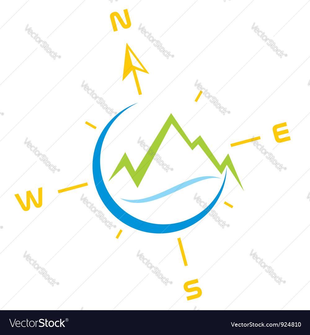 Adventure symbol vector image