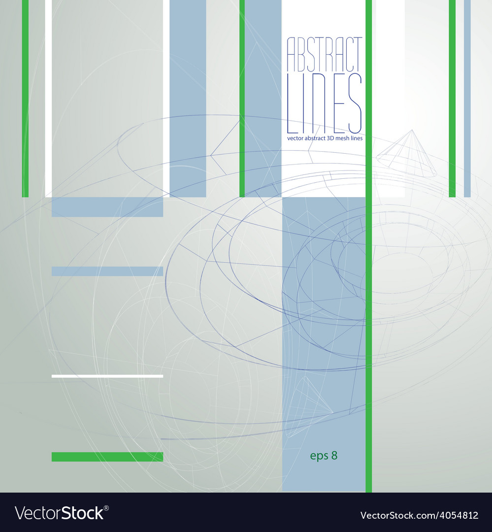 Modern Lines Background clear eps 8 vector image