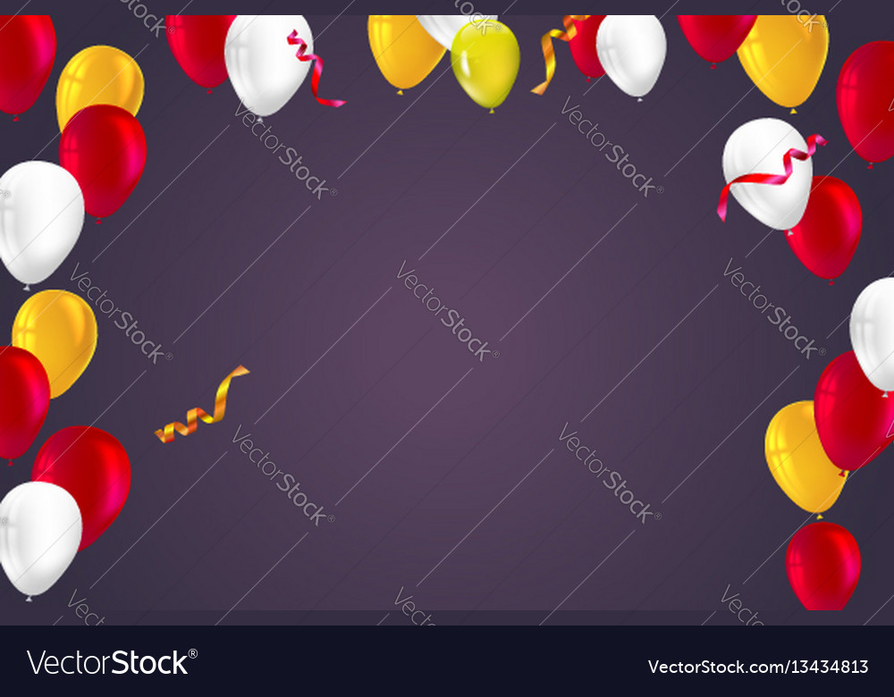 Festive background for greeting cards vector image