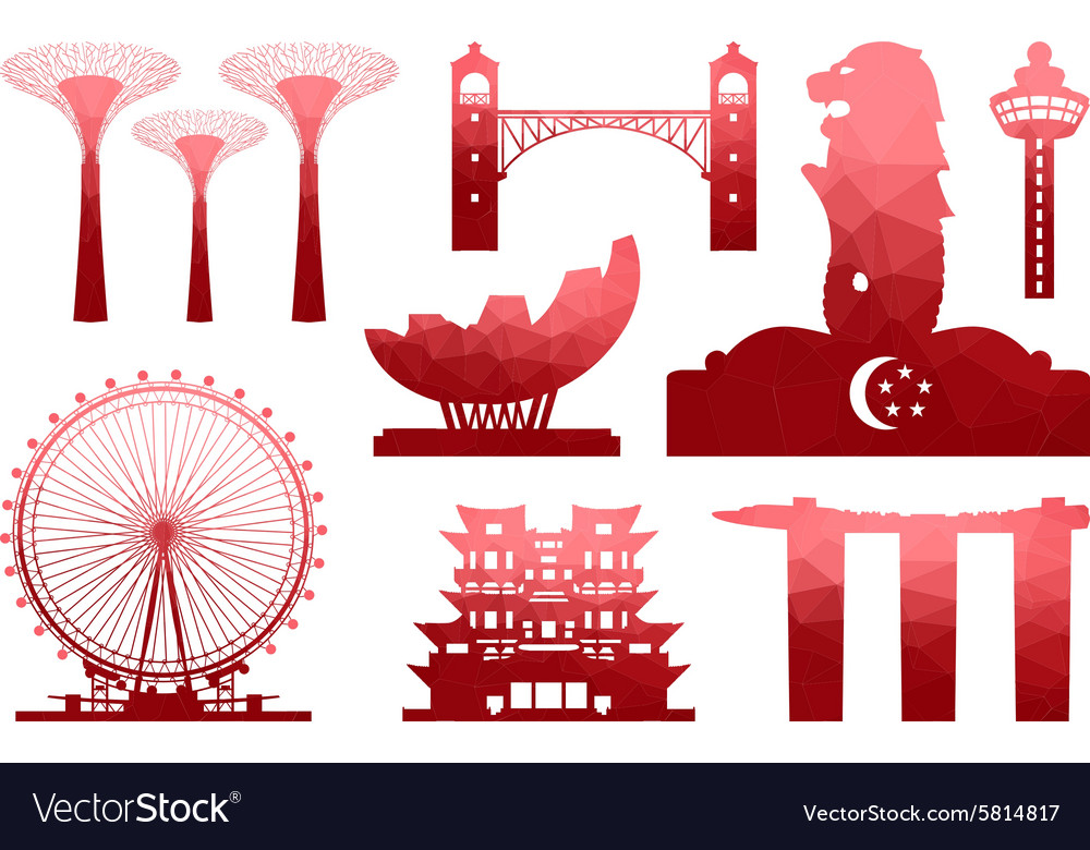 Singapore Icon vector image