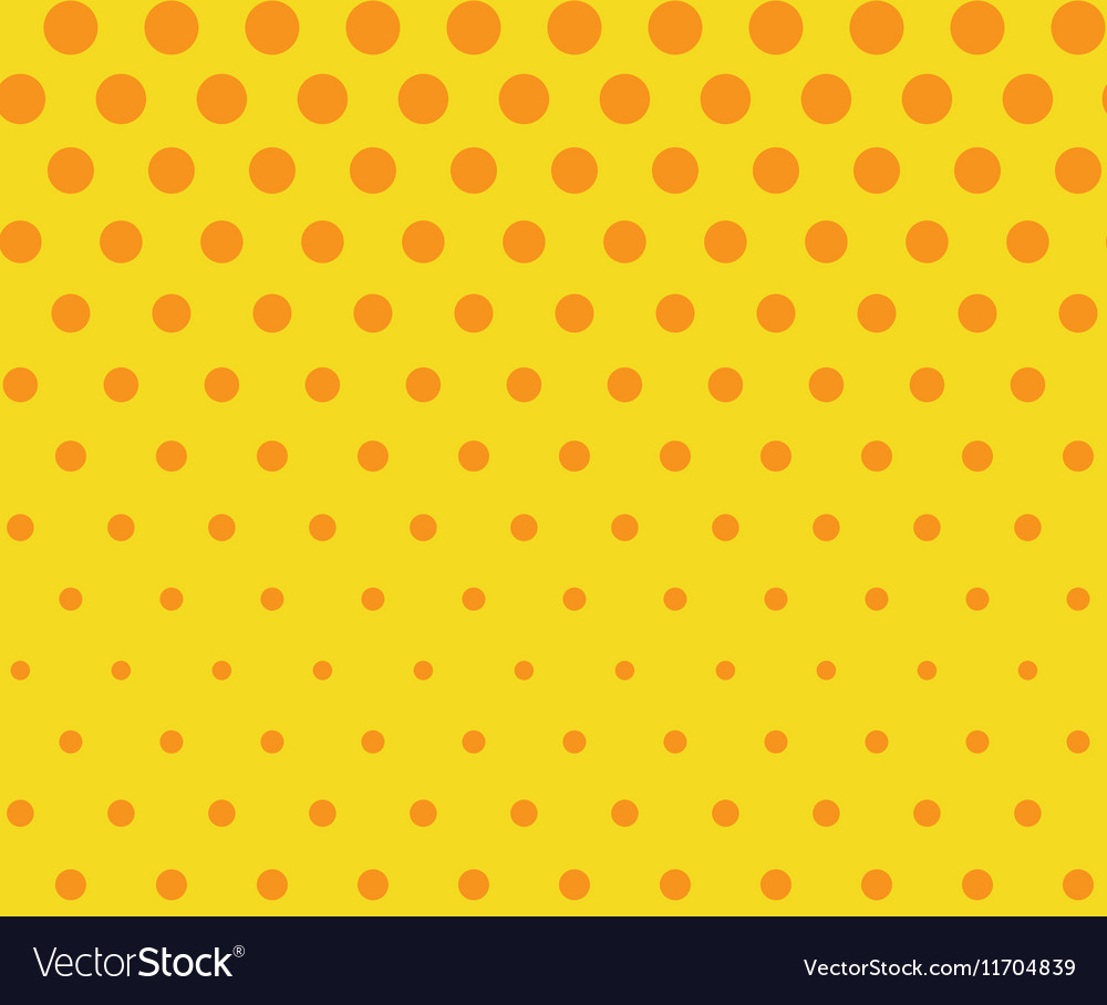 Dots seamless pattern background Retro pop art vector image