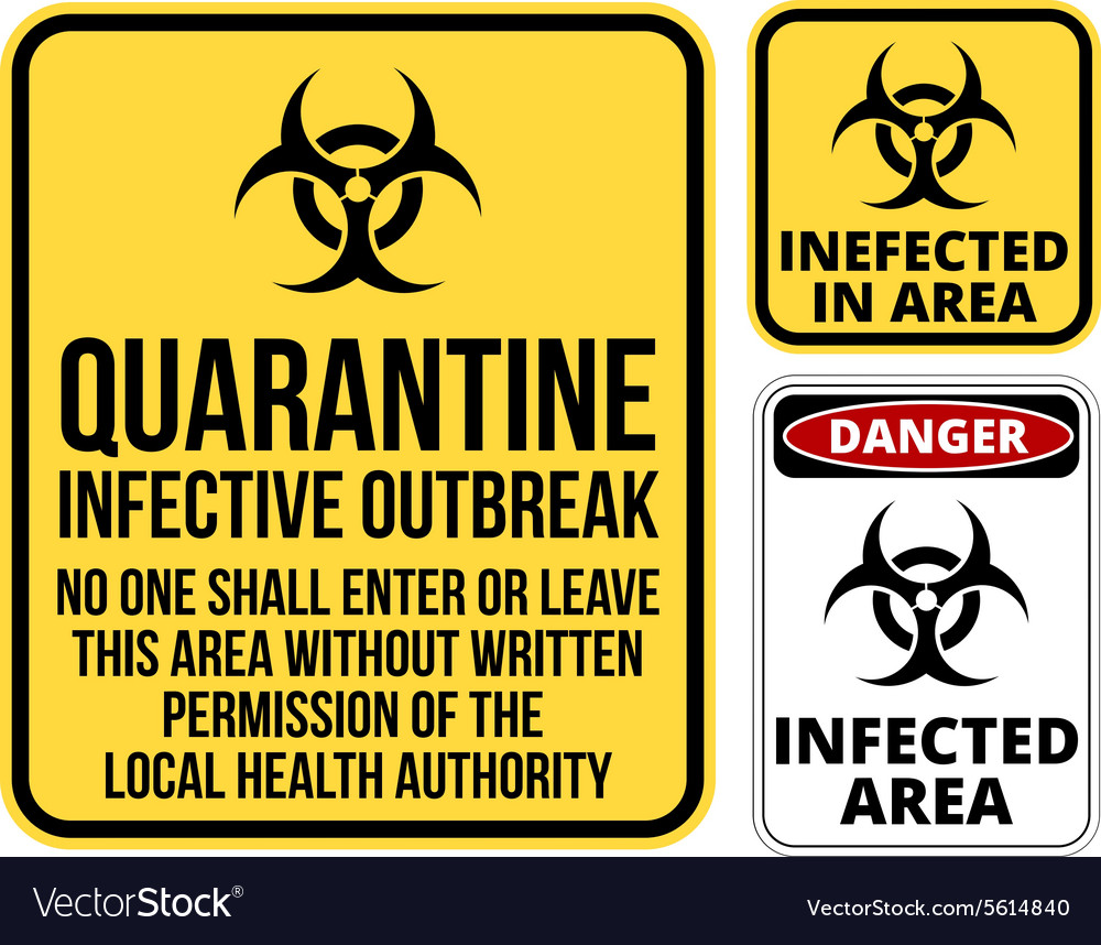 Quarantine royalty free vector image vectorstock quarantine vector image biocorpaavc Image collections