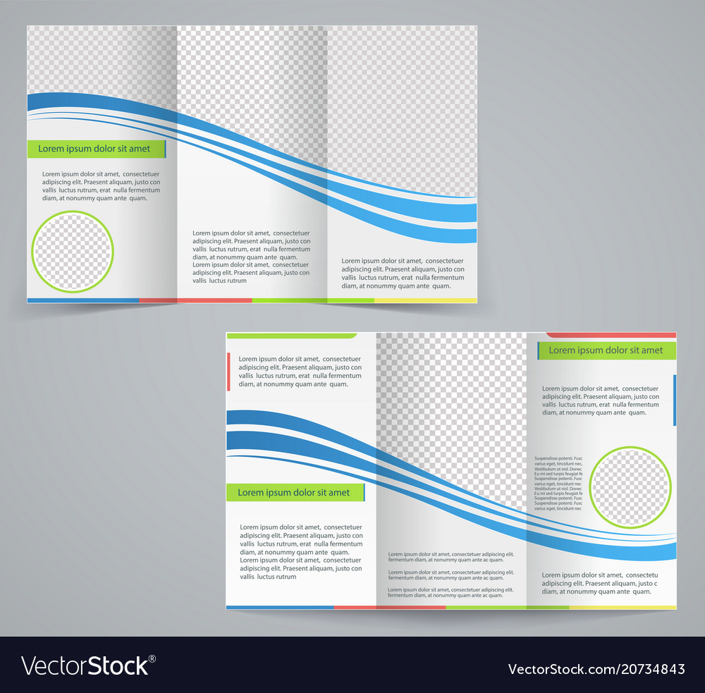 Tri fold business brochure template royalty free vector tri fold business brochure template vector image fbccfo Image collections