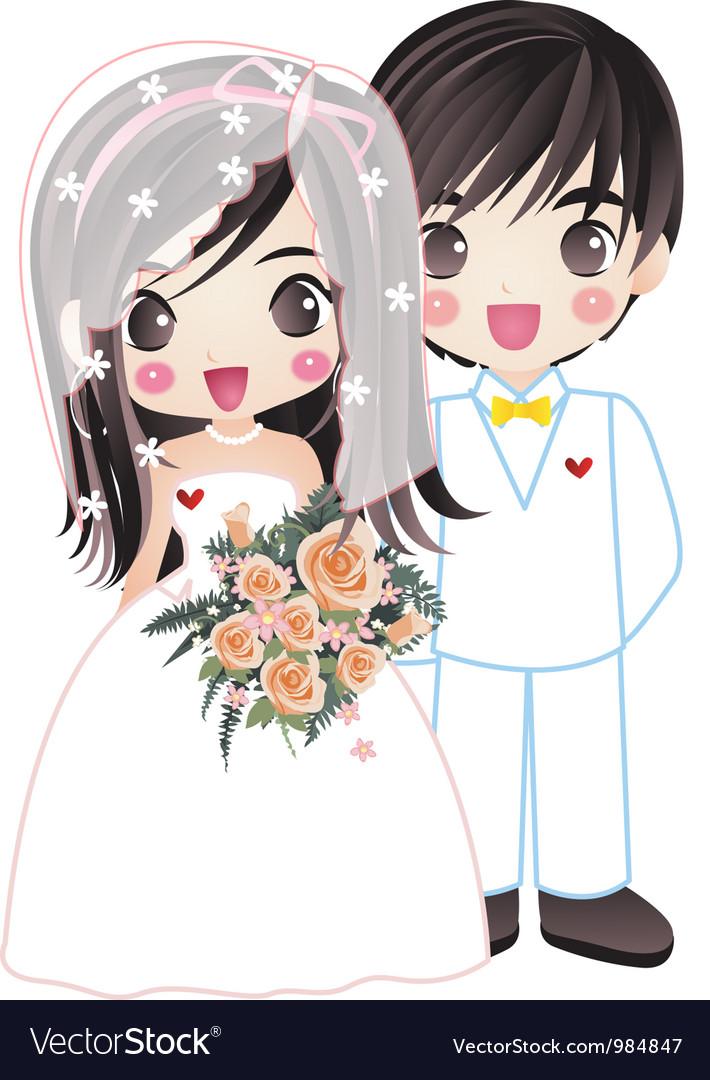 Wedding 003 vector image