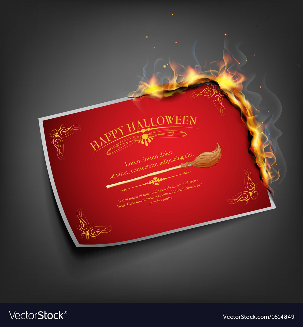 Halloween invitation royalty free vector image halloween invitation vector image stopboris Gallery