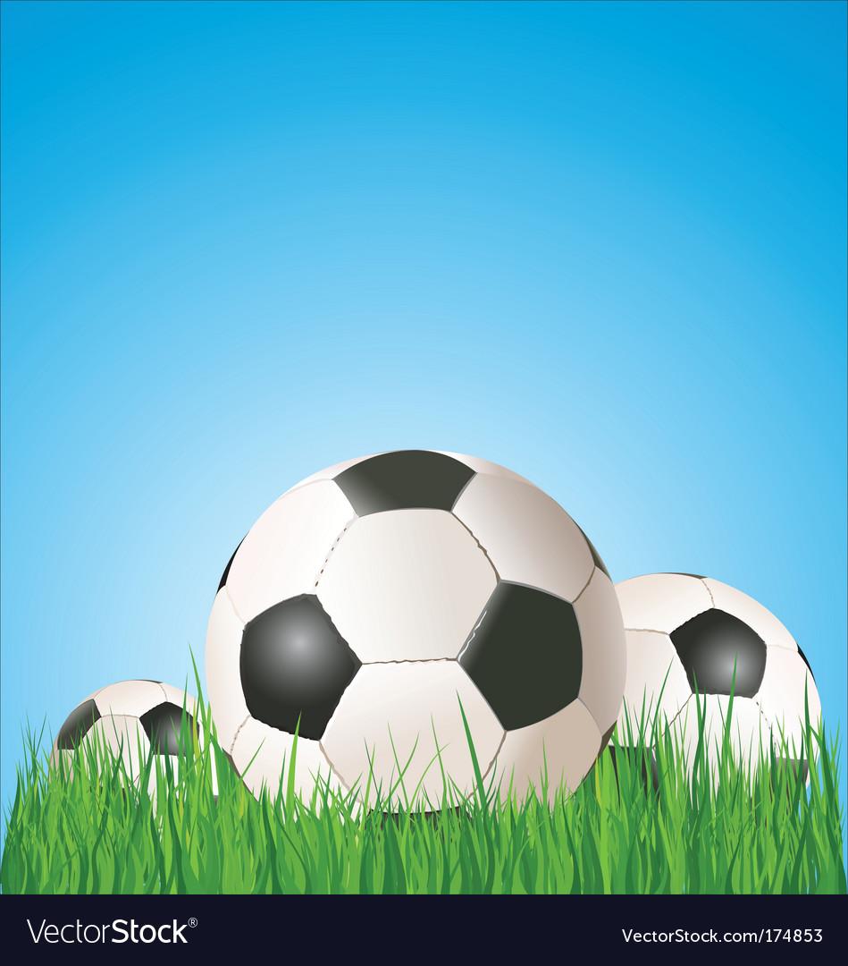 Football soccer Africa vector image