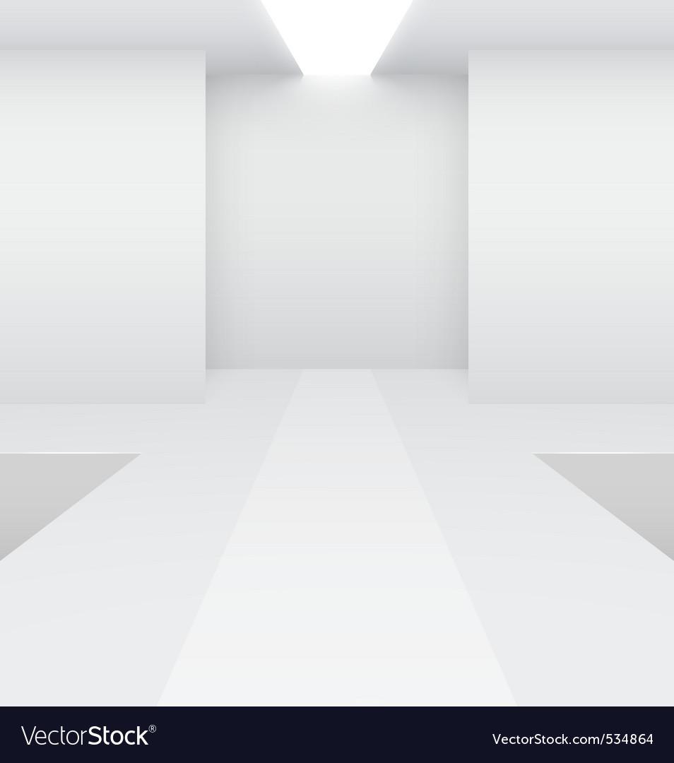 Fashion runway vector image
