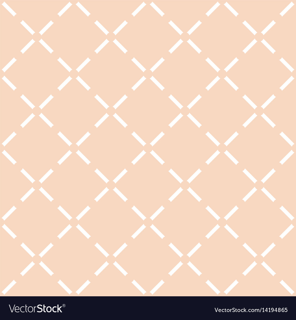 Tile pastel quilted pattern vector image