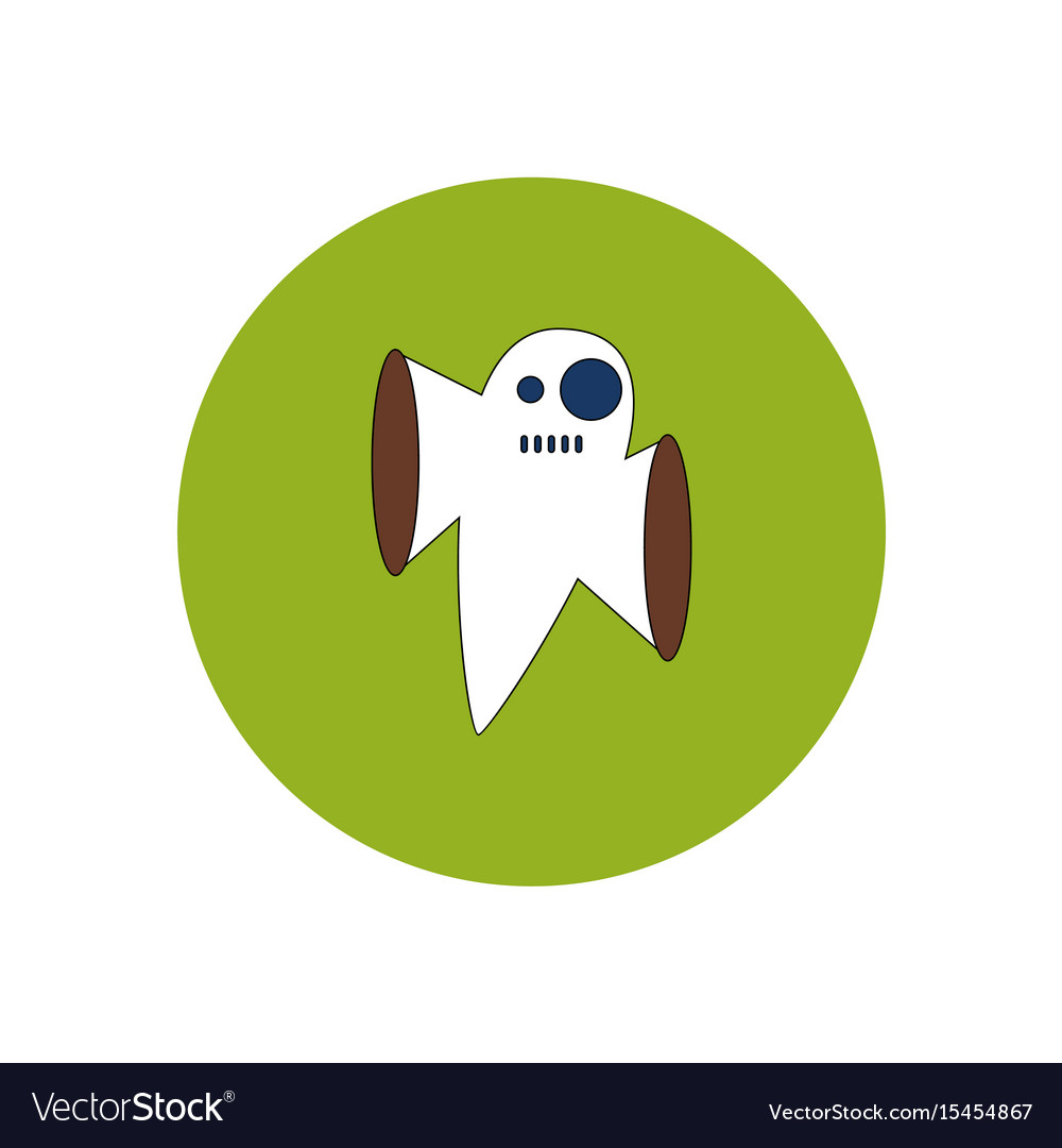 ghost cartoon halloween character