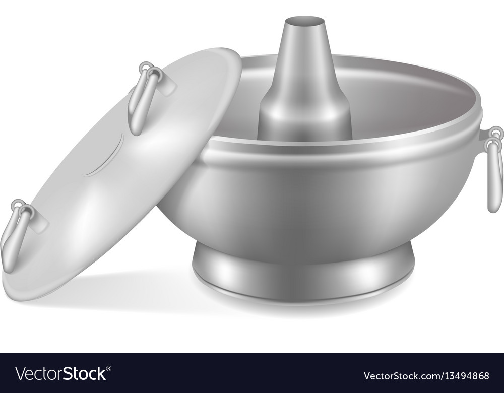 Japanese empty dish vector image