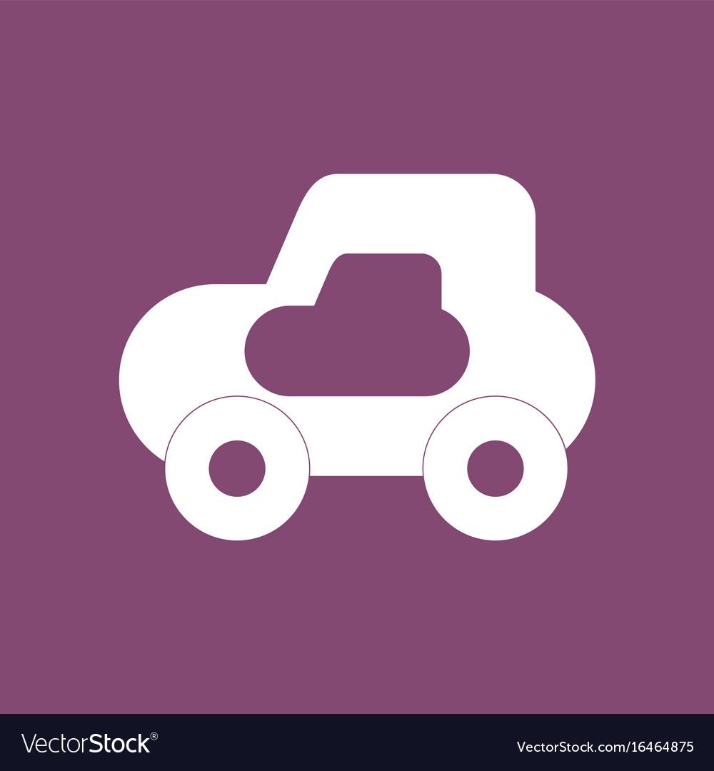 Toy Car computer symbol