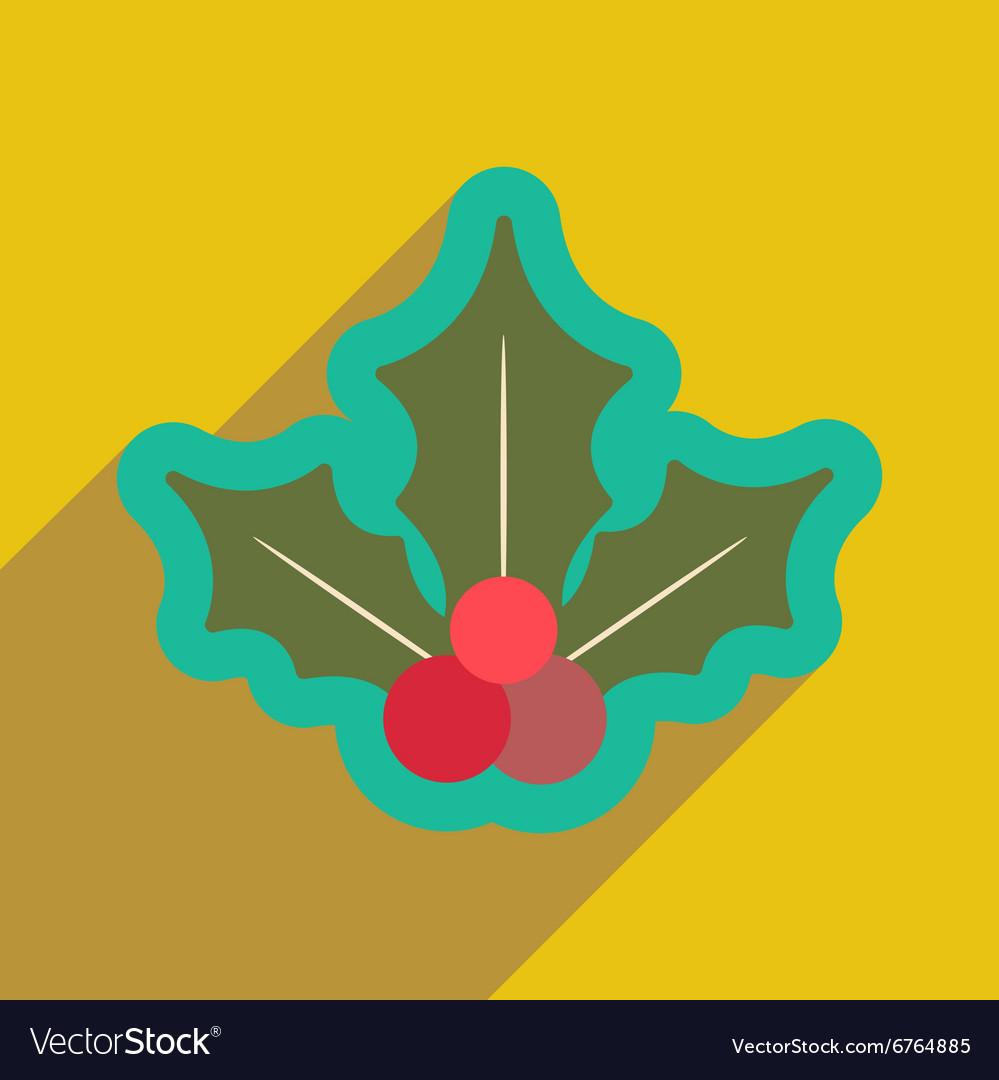 Flat icon with long shadow christmas mistletoe vector image flat icon with long shadow christmas mistletoe vector image buycottarizona Image collections