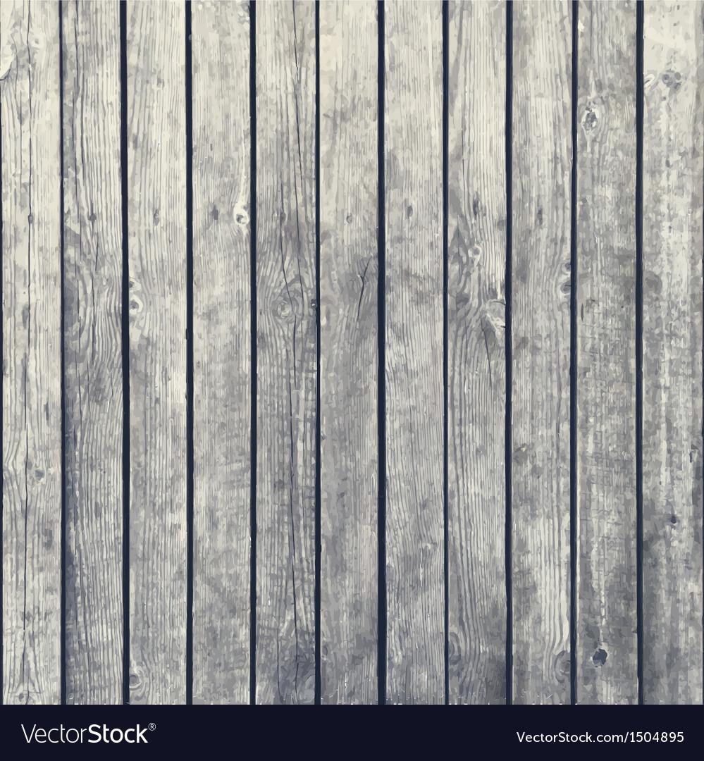 Dark wood board background vector image
