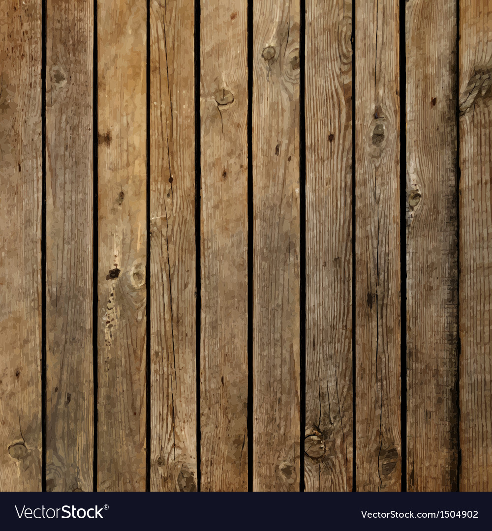 Dark wood board background royalty free vector image