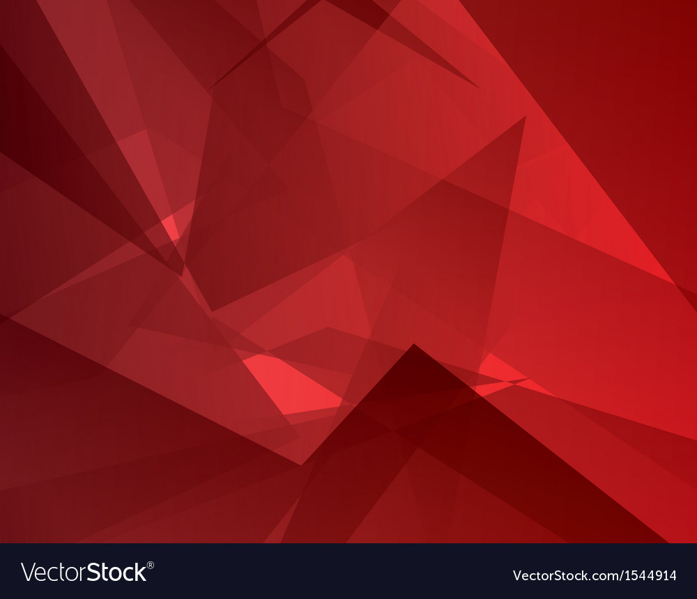 Red abstract background Modern concept vector image