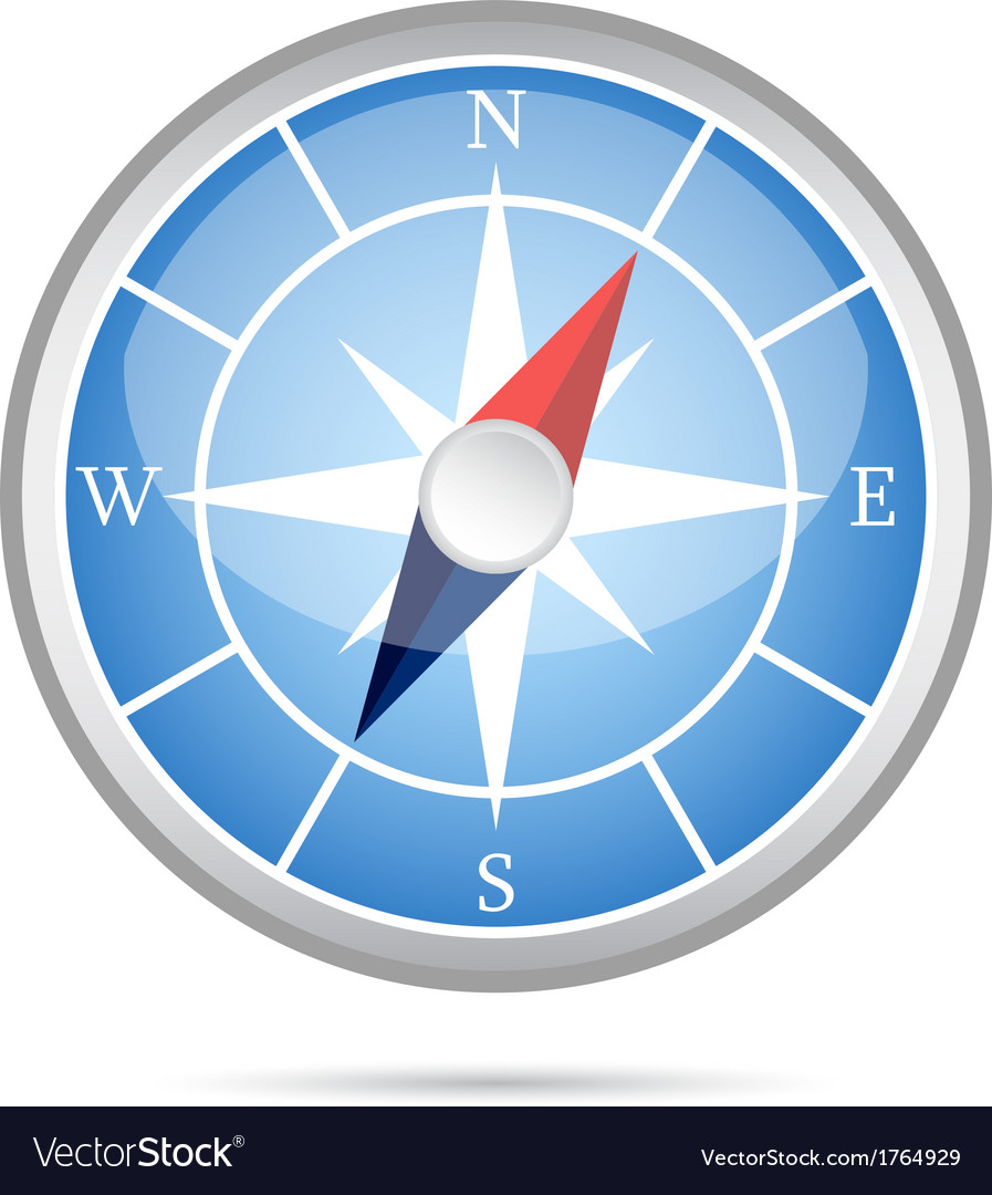 Modern compass icon royalty free vector image vectorstock modern compass icon vector image pooptronica