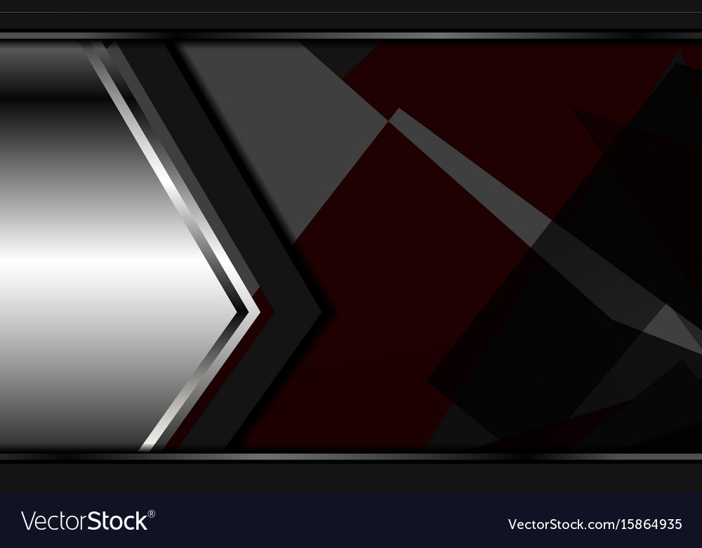Modern abstract dark backgrounds vector image