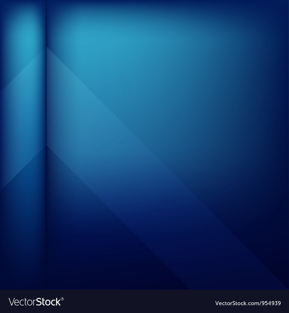 Abstract cover blue background vector image