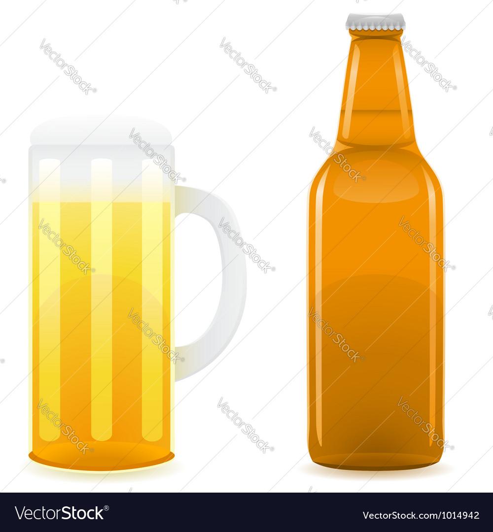 Beer 05 vector image