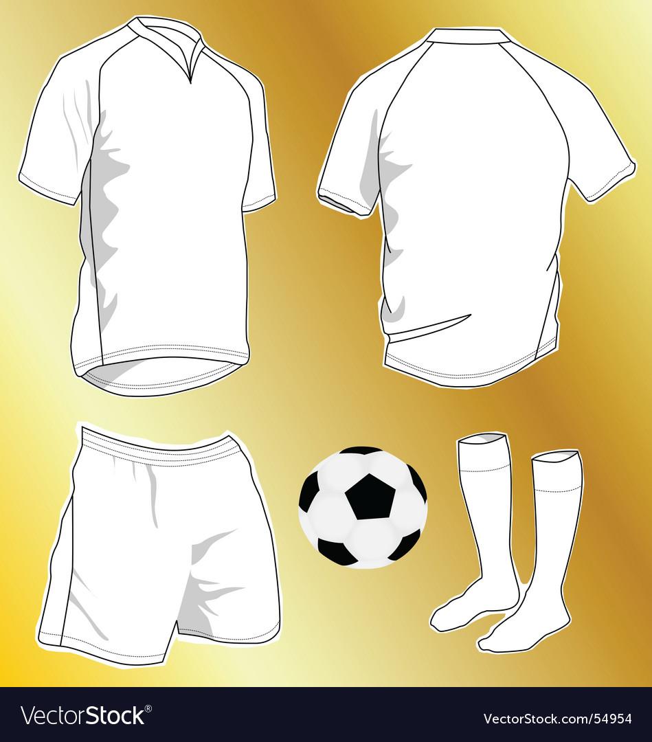 Sport uniforms vector image